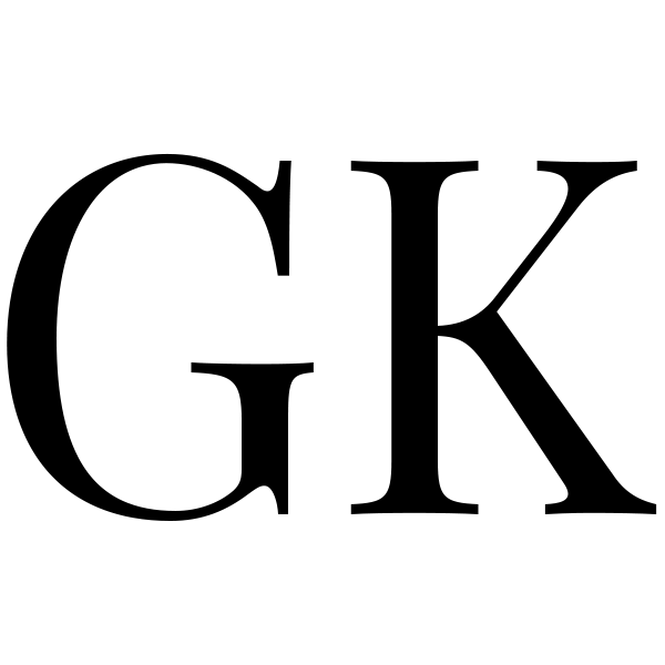 GK Logo 600 X 600