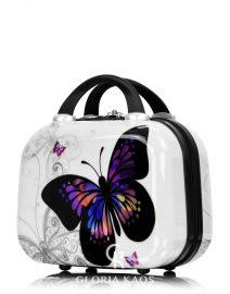 Gloria Kaos Mini Vanity Case Butterfly 001