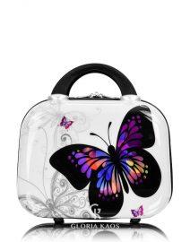 Gloria Kaos Mini Vanity Case Butterfly 002