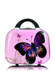 Gloria Kaos Mini Vanity Case Butterfly Pink 002