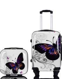 Gloria Kaos Suitcase - Bis Butterfly 50cm Chrome + VC - 001