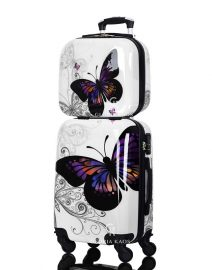 Gloria Kaos Suitcase - Bis Butterfly 50cm Chrome + VC - 002